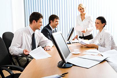 Die Geschäftsführungs-Assistentin